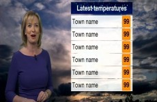 Forecaster predicts scorching temperatures of 99 degrees in BBC weather fail