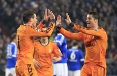 Gareth Bale and Cristiano Ronaldo combine to shatter Schalke