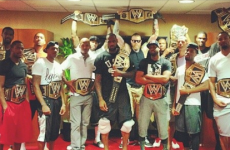LeBron James got WWE title belts for his Miami Heat teammates