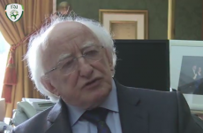 VIDEO: Michael D Higgins discusses the President's Cup and his love for the League of Ireland