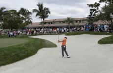 McIlroy grabs PGA clubhouse lead with sizzling 63