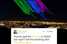 These devastated Dubliners couldn't see any Northern Lights last night