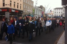 """""""State of shock"""": Parents protest over amalgamation of North Mon school"""
