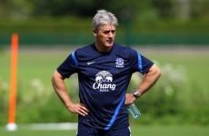 Everton academy manager backs Irish prodigy to shine