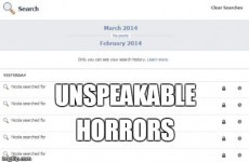 Your Facebook search history is a thing of nightmares