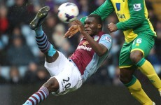 VIDEO: Christian Benteke scores an incredible overhead volley
