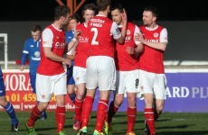 VIDEO: Keith Fahey's superb match-winning goal in the President's Cup