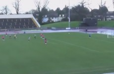 Check out this long-range effort from Raheny's Claire Shine over the weekend