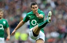 Ireland remain optimistic that Jonny Sexton will be available for Italy