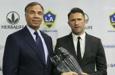 VIDEO: Bruce Arena and Robbie Keane stole the show at the FAI Awards