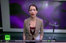 """Military intervention is never the answer"": Russia Today presenter goes rogue live on air"