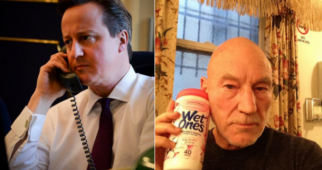 David Cameron on the phone inspires greatest Twitter reaction ever