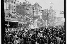 Mardi Gras in New Orleans a century ago was still a wild party