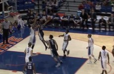 Unknown college player unleashed what is being called the dunk of the year