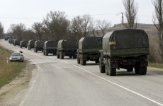 Gunfire keeps monitors from Crimea as Russia ups threats