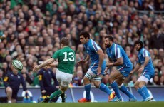 Three Hands of BOD as O'Driscoll sets up trio of Irish tries