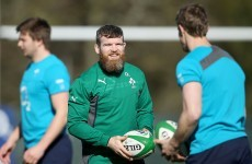 In pics: D'Arcy's beard trains with Irish squad in glorious Maynooth sunshine