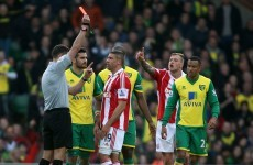 Walters handed three-match ban after red card appeal thrown out