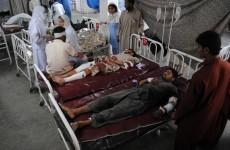 Pakistani Taliban claims responsibility for twin blasts that kill 73