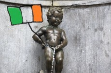 The Manneken Pis statue is getting some Irish clothes for Patrick's Day