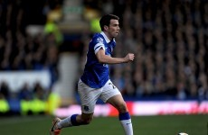 Seamus Coleman hits last-minute winner to keep Everton's faint top-four hopes alive
