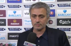 'I prefer not to comment' – Jose Mourinho was not happy after Chelsea lost to Aston Villa