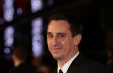 Keira Knightley thinks Gary Neville is 'just amazing'