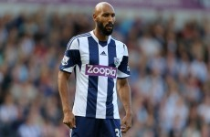 English FA want FIFA to enforce Anelka's punishment
