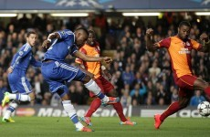 Eto'o puts Chelsea in the driving seat after four minutes
