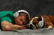 Good Gracious! Jamie Heaslip raps Nelly's 'Hot In Herre' on the radio