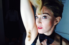 Madonna is FIERCE proud of her hairy armpits... It's The Dredge