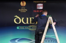 "For one night only: ""Dublin Arena"" gets Europa League makeover"