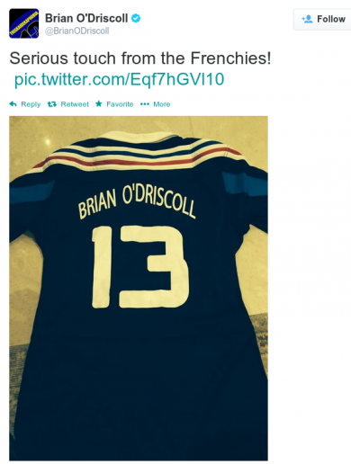 Are the French trying to poach BOD out of retirement? It's the sporting tweets of the week