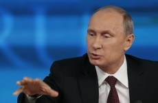 Welcome to Russia... Putin plans firework display to mark Crimea accession