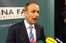 Micheál Martin thinks Alan Shatter seems to have a huge problem saying: 'I got it wrong'