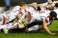 Ulster keep pace with Pro12 leaders after grinding it out in Edinburgh
