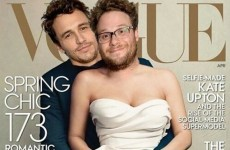 James Franco and Seth Rogen's version of THAT Vogue cover is much better