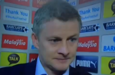 Solskjaer gives perfect post-match response when asked about Liverpool's title chances