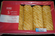 More sausage rolls with allergy risk. This time Dunnes. This time jumbo.