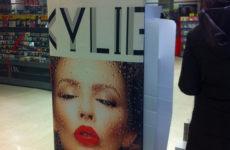 This Kylie poster in Dublin has a perfect hidden message