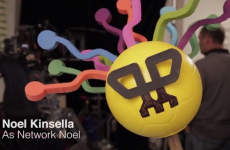 Behind the scenes with Dublin Bus mascot Network Noel