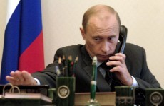 Vladimir Putin has called Barack Obama to talk about a Ukraine solution
