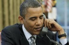 Putin calls Obama to suggest examining 'possible steps' to calm Ukraine