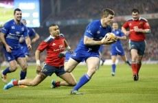 This is the Brian O'Driscoll try that gave Leinster victory over Munster