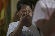 Chinese relatives accuse Malaysia of hiding information about missing plane