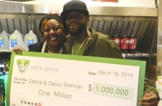 Meet the couple who won the lottery three times... in one month