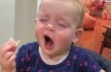 Little girl has first taste of salt and vinegar crisps, reacts adorably