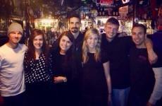 The Backstreet Boys had a few cheeky pints in Dublin before their gig last night