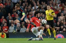 Swap Kagawa for Fellaini in Munich and Manchester United have an outside chance