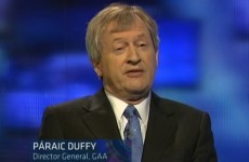 'Finance was not our priority' - Paraic Duffy on GAA's TV deal with Sky
